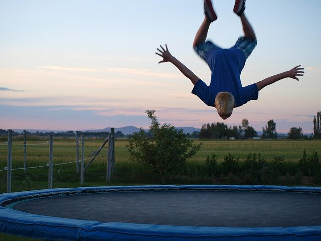 trampolines and spinal injuries